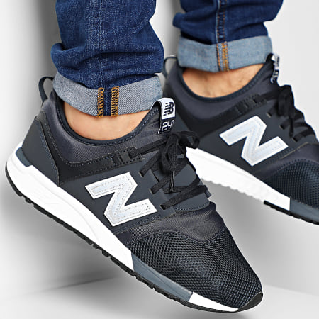 New Balance - Baskets Lifestyle 247 698181-60 Navy