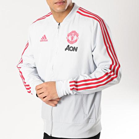 adidas Veste Zippée Avec Bandes Manchester United DP6933