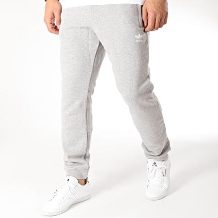 adidas Pantalon Jogging Trefoil DV1540 Gris Chiné