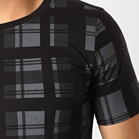 Berry Denim - Tee Shirt JAK-092A Noir Gris
