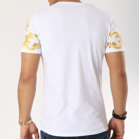 Berry Denim - Tee Shirt JAK-087 Blanc Renaissance