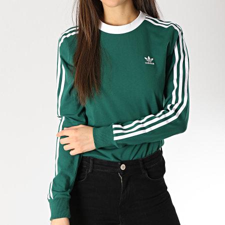 t shirt adidas vert femme