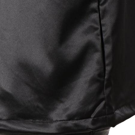 adidas - Veste Satinée Coach DV1617 Noir Blanc