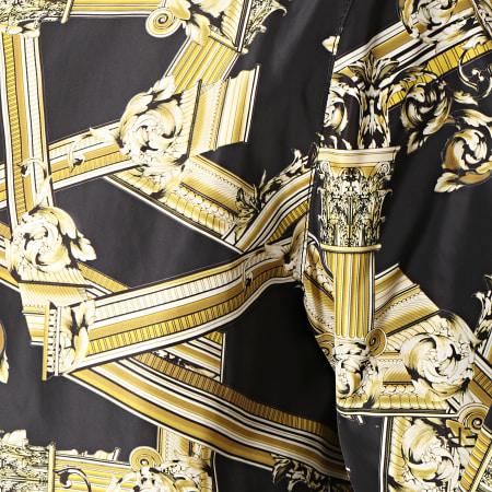 Versace Jeans - Coupe-Vent Réversible 402 C1GTB902-60381 Noir Renaissance