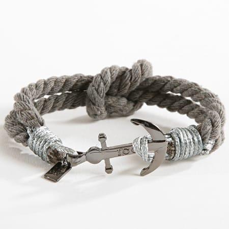 Icon Brand - Bracelet Captain Flint Gris