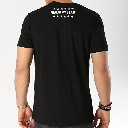 Venum - Tee Shirt Boxing Origins 03405 Noir Blanc
