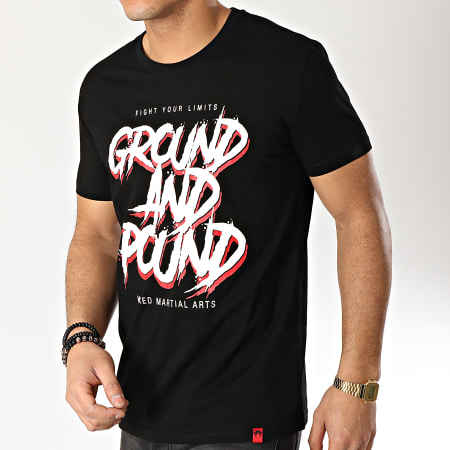 Venum - Tee Shirt Ground And Pound 03663 Noir