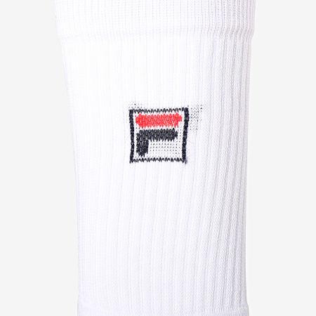 Fila - Lot De 2 Paires De Chaussettes F9020 Blanc