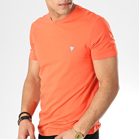 Guess - Tee Shirt M92I04-J1300 Orange