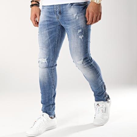 Terance Kole - Jean Skinny 66035 Bleu Denim