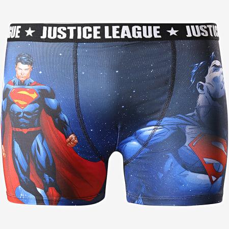 DC Comics - Boxer Superman 01 Bleu Marine Noir