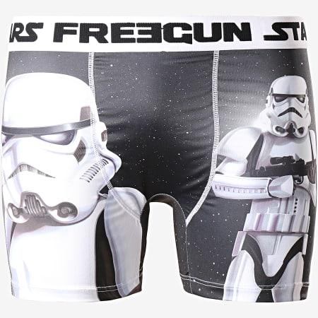 Freegun - Boxer Star Wars 1 Noir Blanc