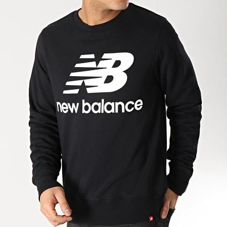 New Balance - Sweat Crewneck Logo 690940-60 Noir