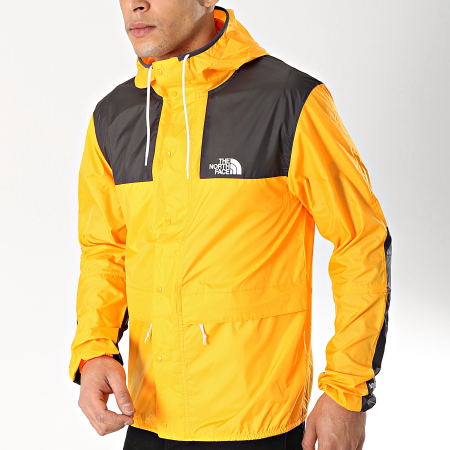 coupe vent the north face orange