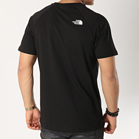The North Face - Tee Shirt Red Box Noir Rouge