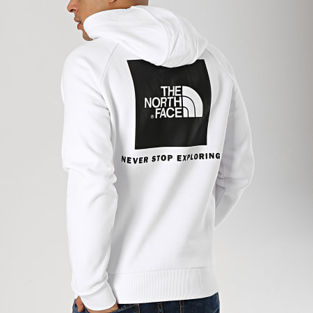 The North Face - Sweat Capuche Red Box 2ZWU Blanc
