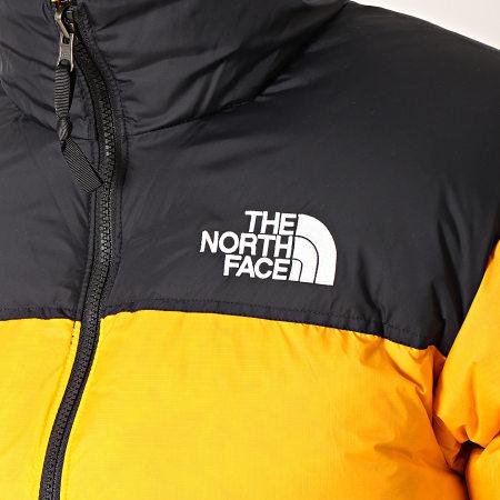 The North Face - Doudoune 1996 Nuptse 3C8D Orange Noir
