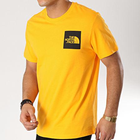 The North Face - Tee Shirt Fine Orange