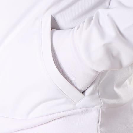 Ellesse - Veste Zippée Rayures 1035N Blanc Noir Bleu Clair