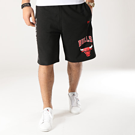 New Era - Short Jogging Logo Stack NBA Chicago Bulls 11860104 Noir