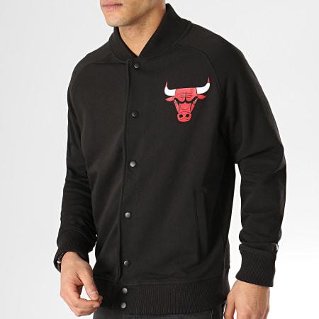 New Era - Teddy Core Jersey Varsity Chicago Bulls 11860115 Noir