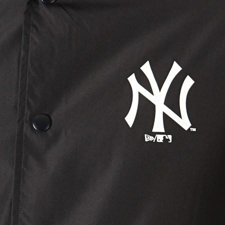 New Era - Coupe-Vent MLB Coaches New York Yankees Noir