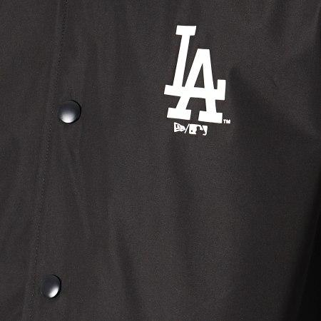 New Era - Coupe-Vent MLB Coaches Los Angeles Dodgers Noir