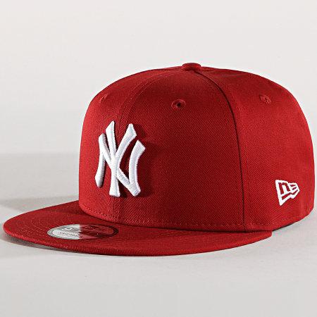 New Era - Casquette Snapback New York Yankees 11871485 Bordeaux