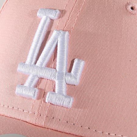 New Era - Casquette De Baseball Femme 940 Los Angeles Dodgers 11871478 Rose Clair