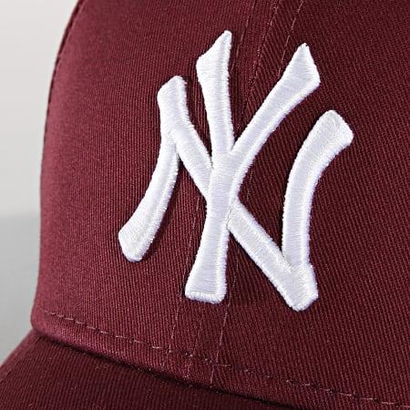 New Era - Casquette De Baseball League Essential 940 New York Yankees 80337643 Bordeaux
