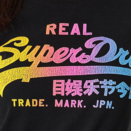 Superdry Tee Shirt Femme Vintage Logo Spectrum G10140TT
