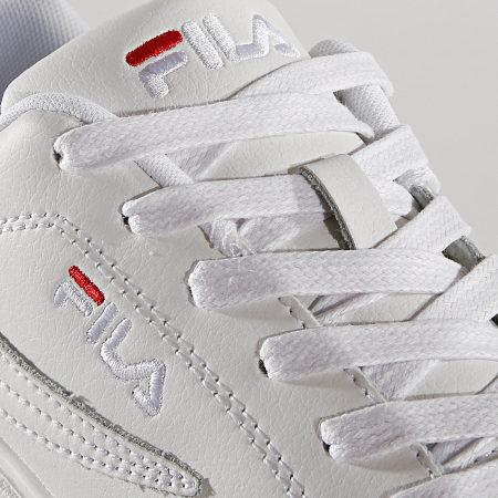 FILA overstate low blanc Chaussures sneaker femme sport 1010472