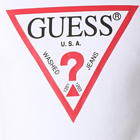 Guess - Sweat Crewneck M92Q08K6ZS0 Blanc