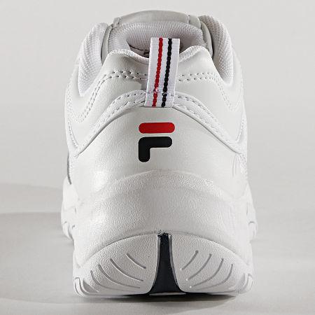 Fila Baskets Femme Strada Low 1010560 1FG White