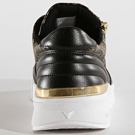 Guess - Baskets FM6KNLLEA12 Black Gold
