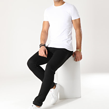 Jack And Jones - Jean Slim Glenn Original Noir