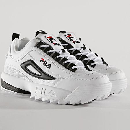 Fila Baskets Disruptor CB Low 1010575 00E White Black