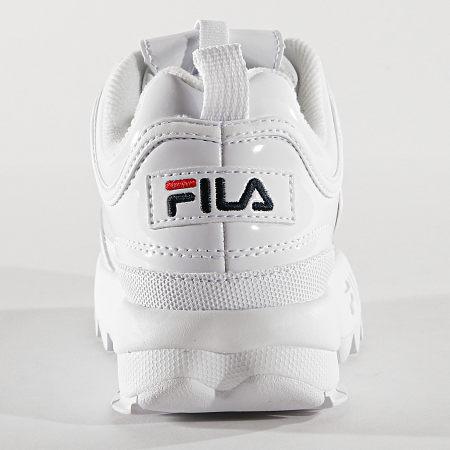 Fila Baskets Femme Disruptor M Low 1010608 1FG White