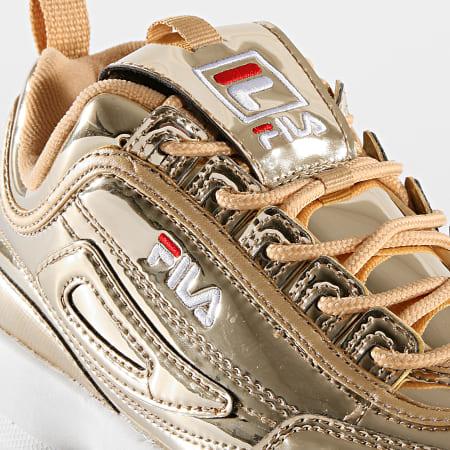 Fila - Baskets Femme Disruptor M Low 1010608 80C Gold