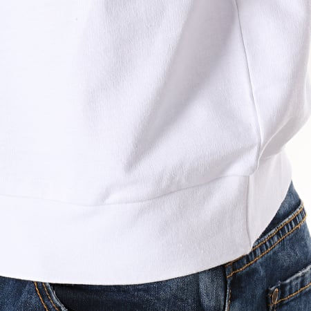 Sergio Tacchini - Sweat Capuche Comma 38028 Blanc