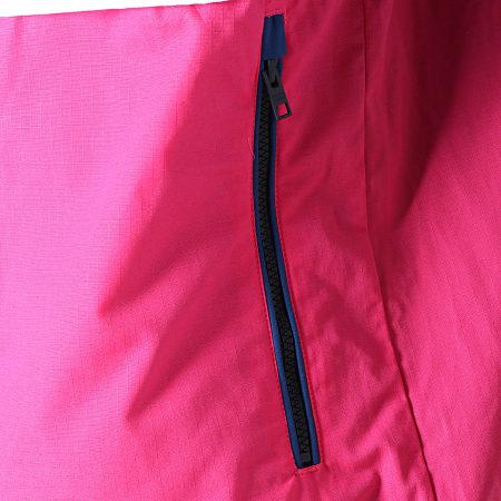 Tommy Hilfiger Jeans - Veste Outdoor Pop Over Rose Bleu Marine Blanc
