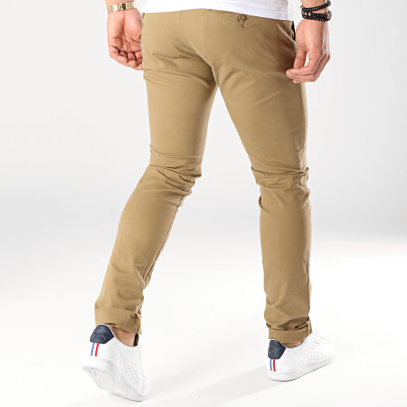 Celio - Pantalon Chino Moprime Camel