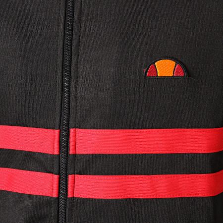 Ellesse Veste Zippée Rimini SHA00892 Noir Rouge