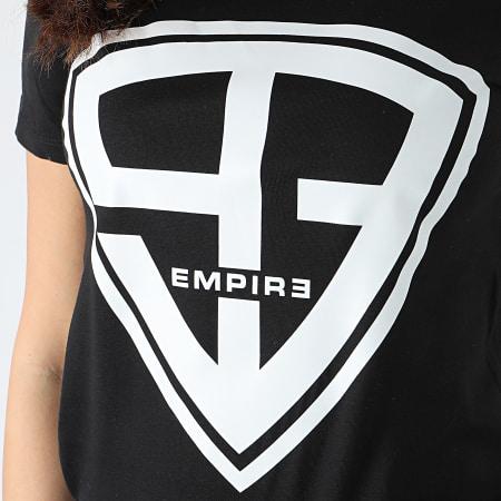 93 Empire - Tee Shirt Femme 93 Empire Noir