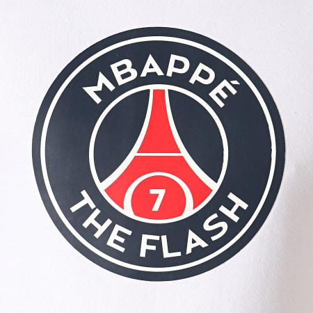 PSG - Sweat Crewneck The Flash Mbappé Blanc