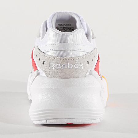 MEL 5/02Reebok - Baskets Femme Aztrek Double 93 DV5386 White True Grey Red Gold