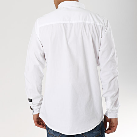 American People - Chemise Manches Longues Sam Blanc