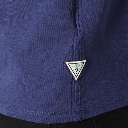 Guess - Tee Shirt M92I24-J1300 Bleu Marine