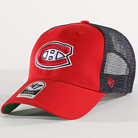 47 Brand Casquette Trucker Montreal Canadiens Brans10ctp Rouge Bleu Marine Laboutiqueofficielle Com