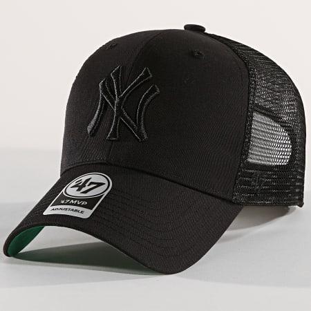 '47 Brand - Casquette Trucker New York Yankees MVP Branston BRANS17CTP Noir